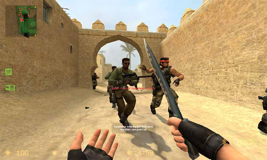 скачать counter strike source v34 русский спецназ